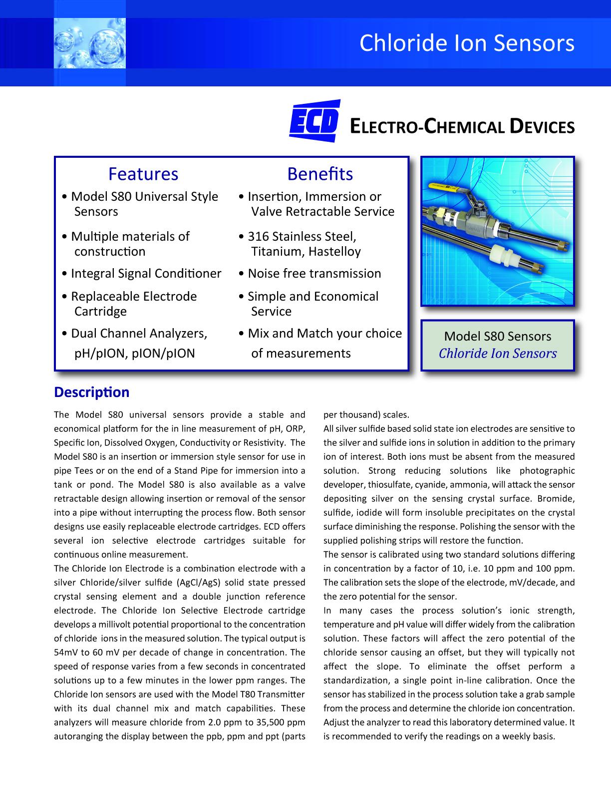 Chloride Sensor