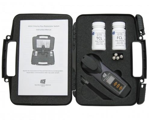 Portable Colorimetric Chlorine Test Kit